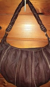 Laundry Shelli Segal Brown Lambskin Leather Purse